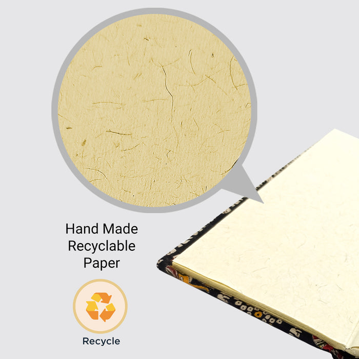 Cotton Hard Bound Handmader Paper Phonebook