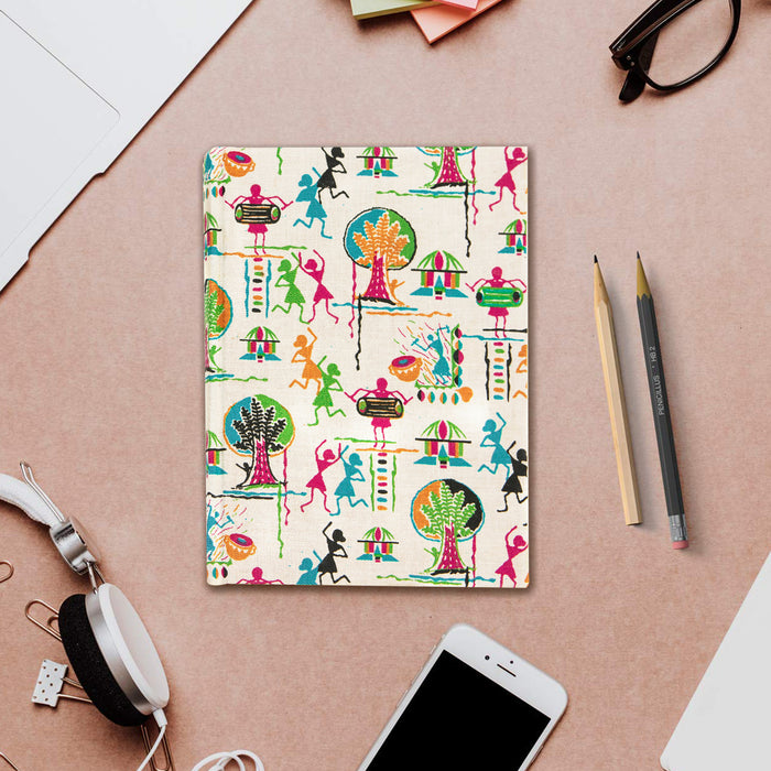 Handmade Paper Cotton Hard Bound Notebook