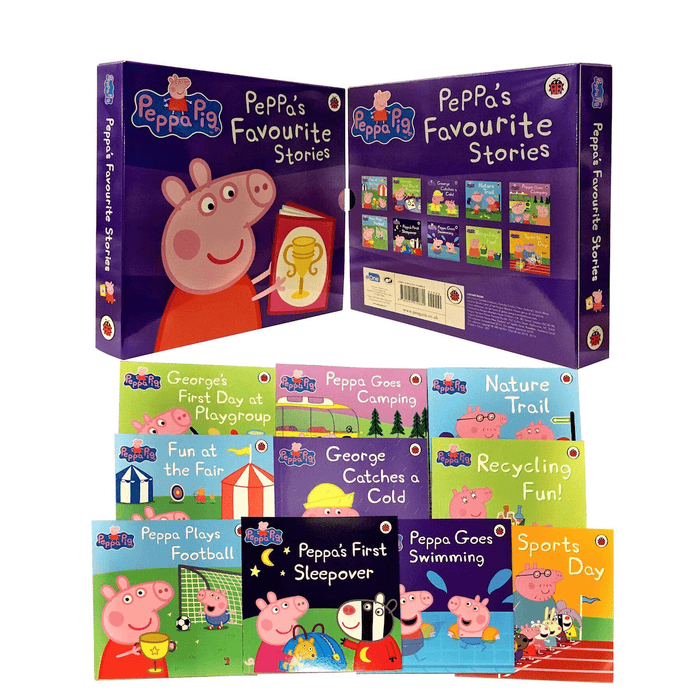 Peppa's Favourite Stories 10 Books Collection