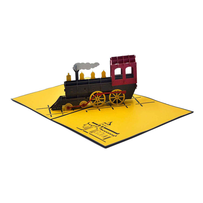 Steam Train Greeting Card For Grandparents
