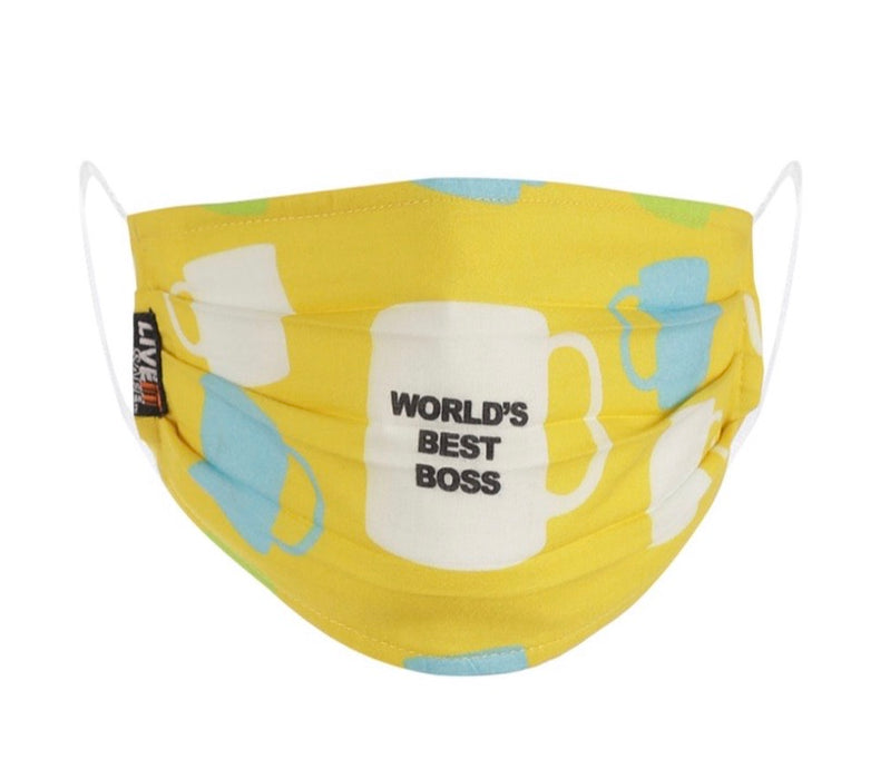 X3 Best Boss Cotton Face Mask Free Size Unisex