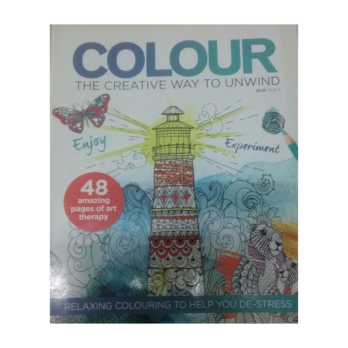 YOU' RE NEVER TOO GROWN UP TO COLOUR