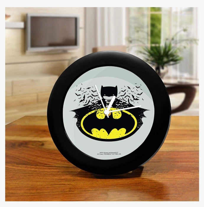DC Comics Table Clock