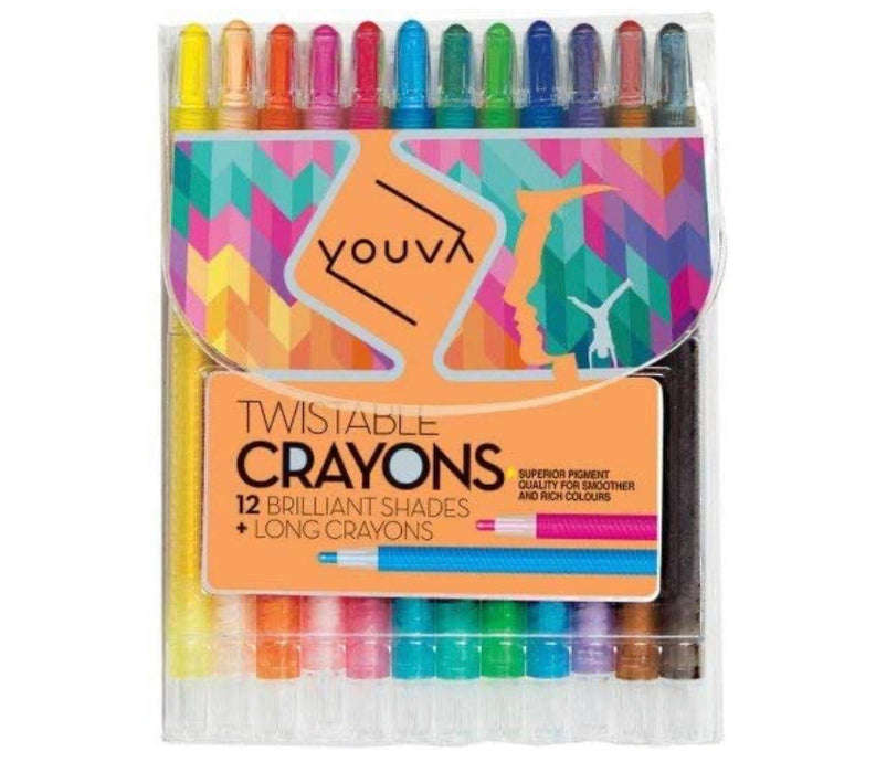 Youva Twistable Crayons (Pack of 12)