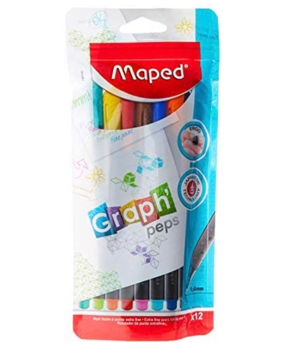 Maped Graph'Peps Doy Set - Pack of 12