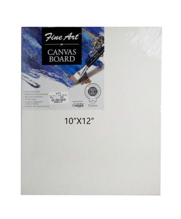 Fine Art Canvas Board