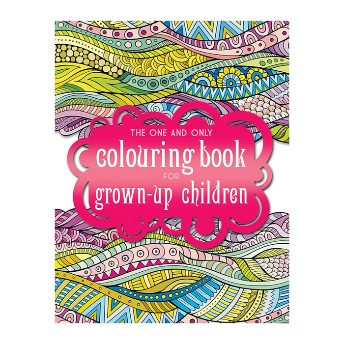 The Third One and Only Mandala Colouring Book got Grown Up Children