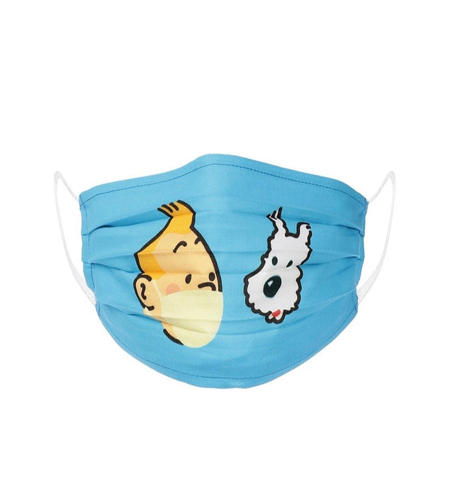 X3 TinTin Snowy Solo Face Mask Free Size Unisex