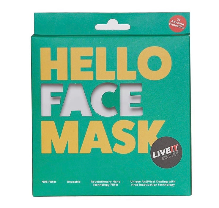 X3 TinTin Sw Cotton Face Mask Free Size Unisex