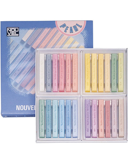 Nouvel Curry Pastel 24 Colors Pearl Set