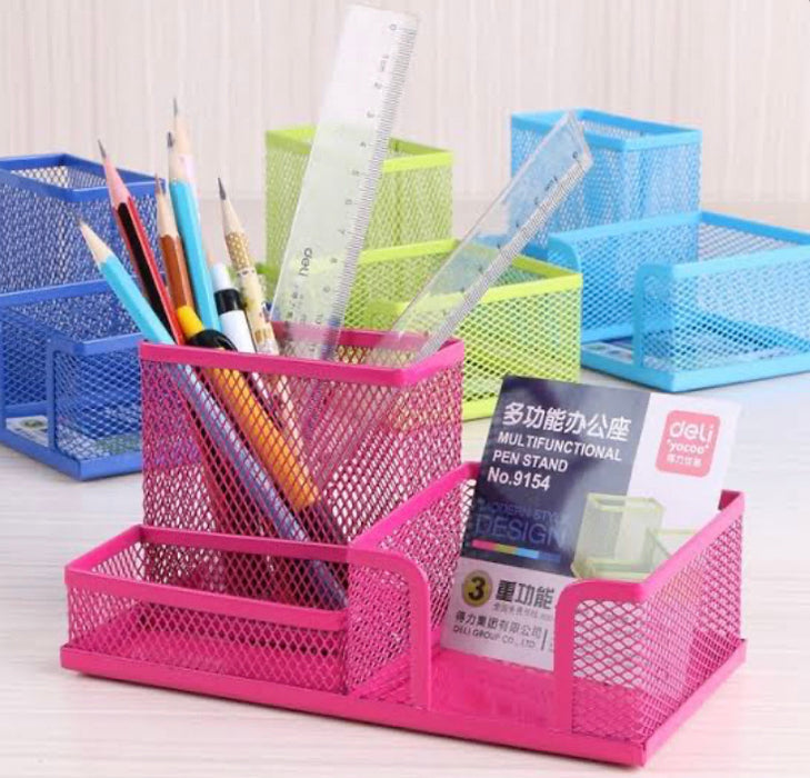 Deli Metal Multi-Purpose 9154 Pen Stand