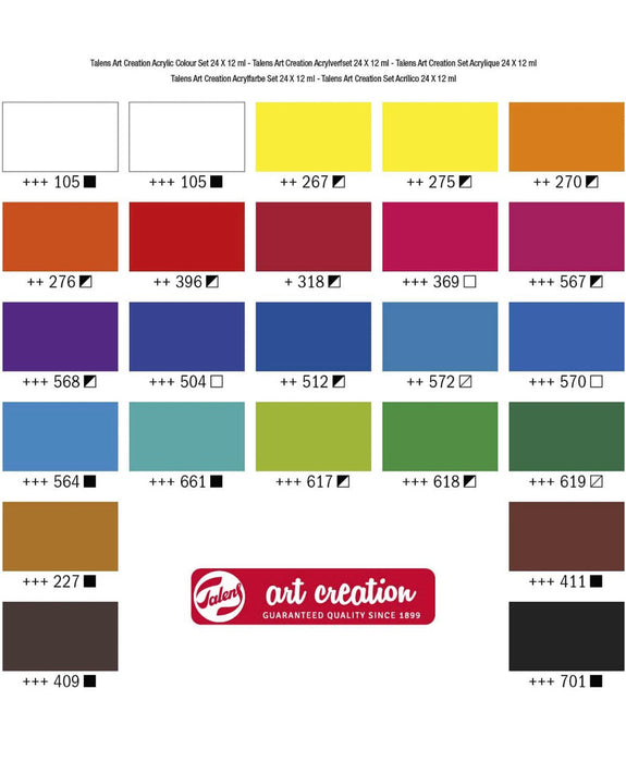 Royal Talens - Art Creation Acrylic Paints Set