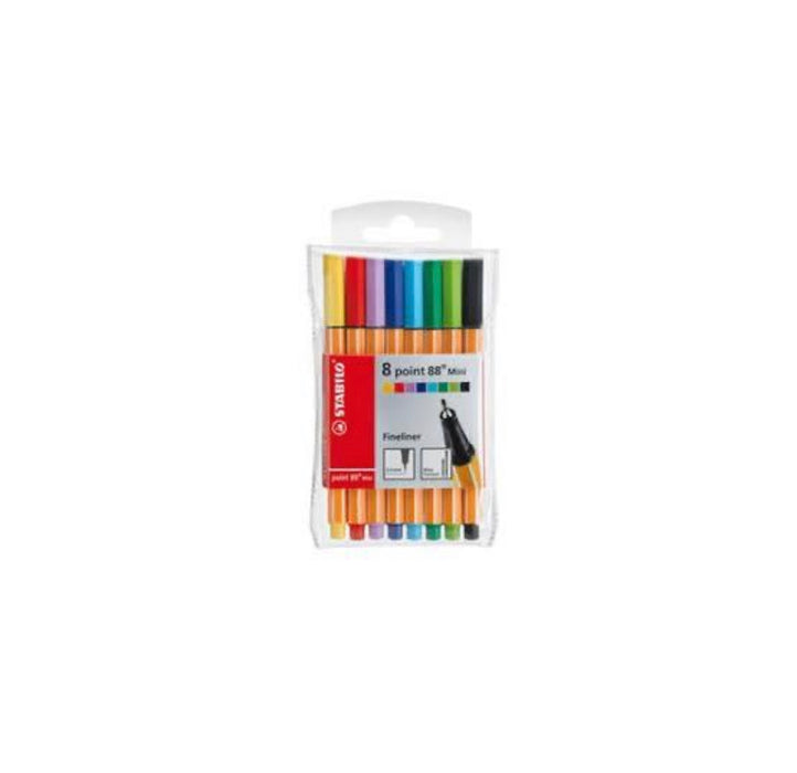 Stabilo Fineliners Point 88 (0.4mm) - SCOOBOO , Stabilo, Fine Liners, stabilo-point-88-fineliners-0-4mm, Fine Liners, Fineliners, [collection]