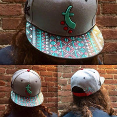 ORDER :: Custom Painted Grassroots California Hat - MAIL MAMA YOUR HAT OPTION