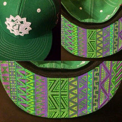 ORDER :: Custom Painted Grassroots California Hat