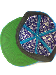 Grassroots California x Tree Shurts // Blueberry Kush Hat // Size 7 1/2