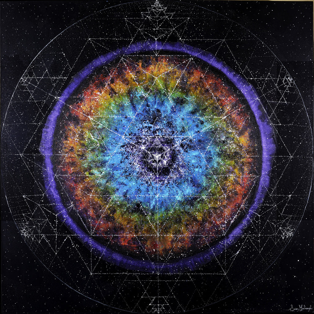 "**Limited Edition** <br> ""64TH TETRA MANDALA"" <br> Original Satin Photo Print"