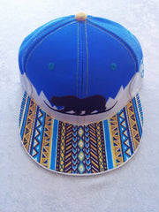 Tribal Winter Bear // Custom Painted Hat // Size 7