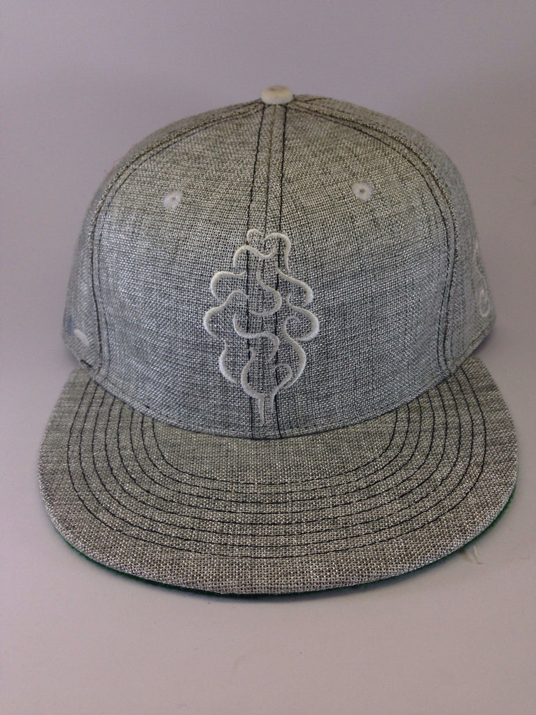 Grassroots California x Tree Shurts // White Rhino Hat // Size 7 1/2