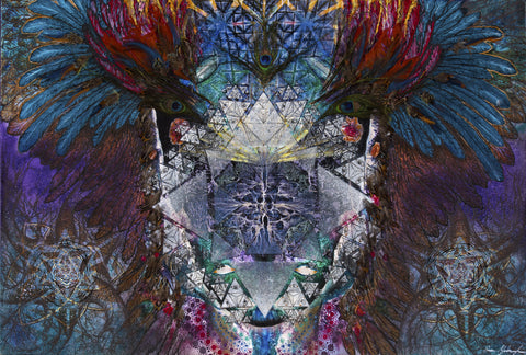 "**Limited Edition** <br> ""MODERN SHAMAN"" <br> Original Canvas Print"