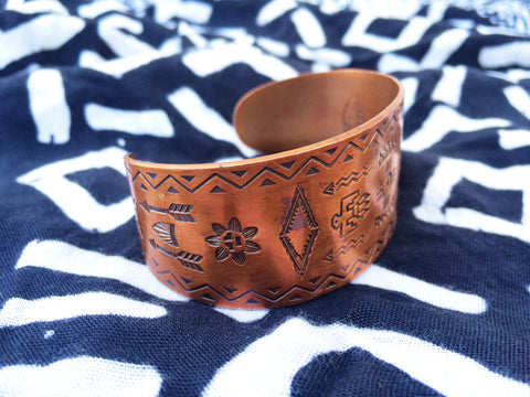 Native Copper Cuff