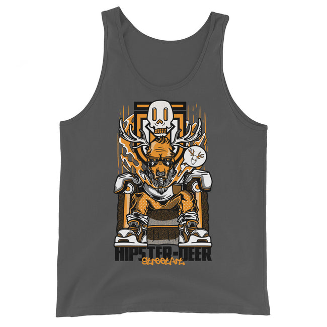 Inking Madness | Hipster Deer Tank Top