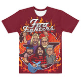 Foo Fighters All Over T-Shirt