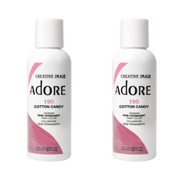Adore - Duo Pack - 190 Cotton Candy - Semi-Permanent Hair Colour (2x118mL)