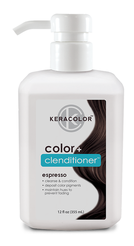 Keracolor - Color+ Clenditioner - Espresso 355ml