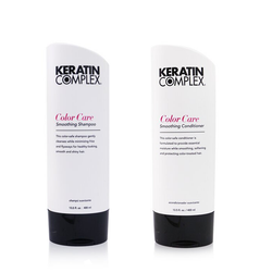 Keratin Complex - Color Care Duo Smoothing Shampoo/Conditioner - 2x400mL
