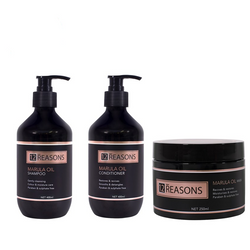 12 Reasons - Marula Oil Trio Pack - Shampoo/Conditioner/Mask