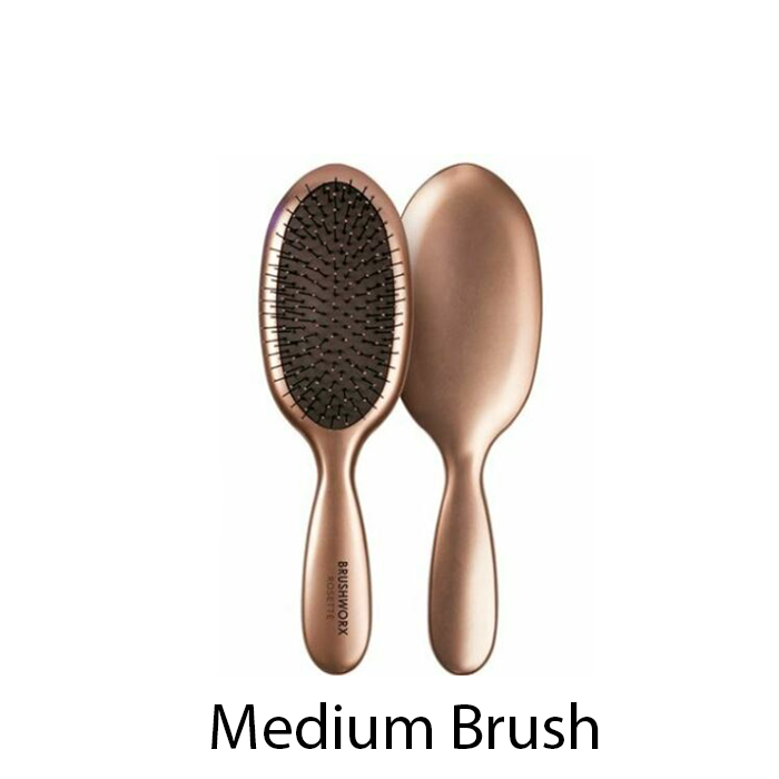 Brushworx Rosette  - Cushion Brush - Rose Gold Medium