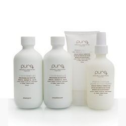 Pure by Juuce - Fusion Complex Bond Repair Treatment Kit - Shampoo/Conditioner/Bond Repair/ Leave in