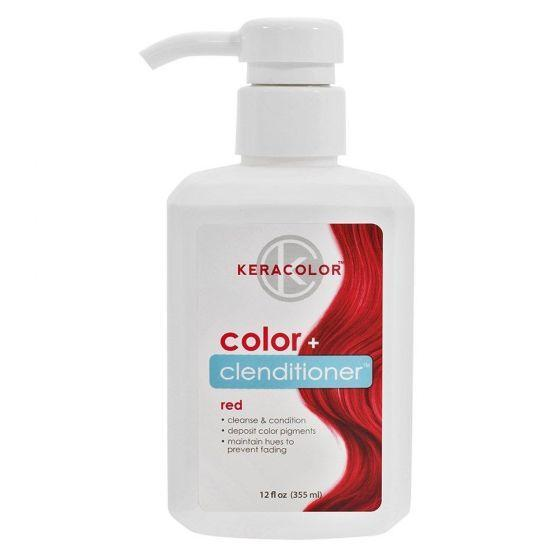 Keracolor - Color+ Clenditioner - Red 355ml