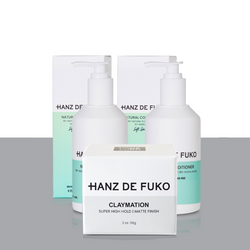 Hanz De Fuko - Shampoo + Conditioner + Choice of Pomade - 56g