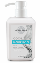 Keracolor - Color+ Clenditioner - Silver 355ml
