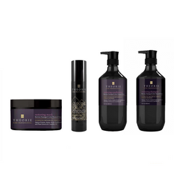 Theorie - Restoring Quad Pack - Shampoo(400mL)/Conditioner(400mL)/Glossing Serum(91mL)/Mask (193g)