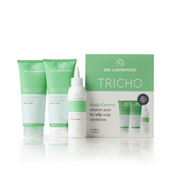 De Lorenzo - Tricho Scalp Control Solution Pack For Oily Scalp - Treatment