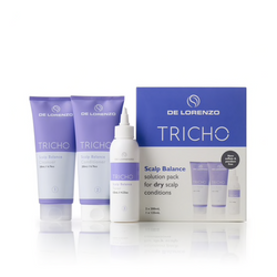DeLorenzo - Tricho Scalp Balance Solution Pack For Dry Scalp - Treatment