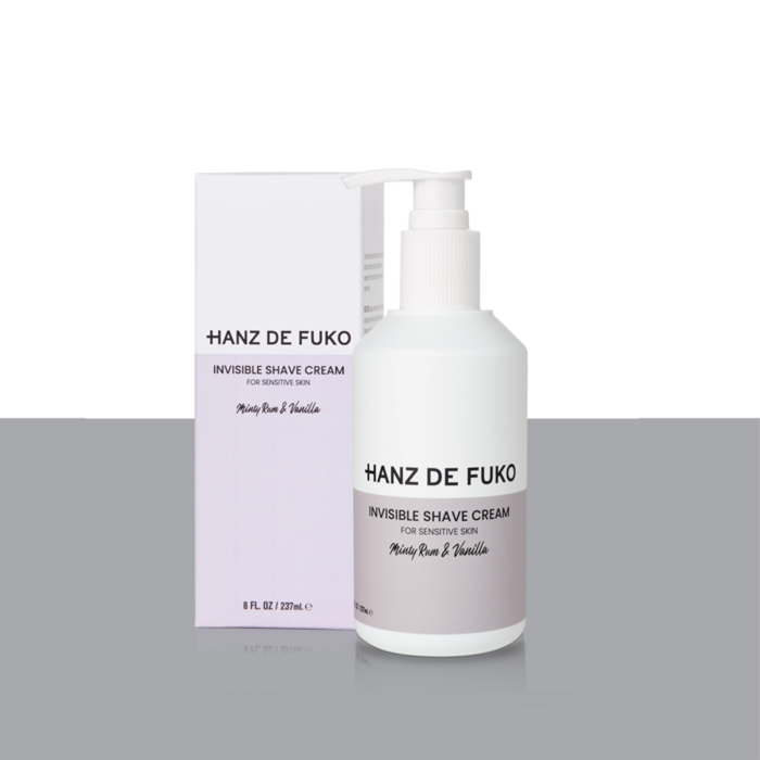 Hanz De Fuko - Invisible Shave Cream - 237mL