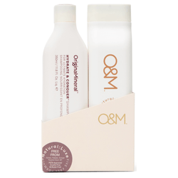 O&M - Hydrate and Conquer Duo Pack - Shampoo/Conditioner (2x350mL)