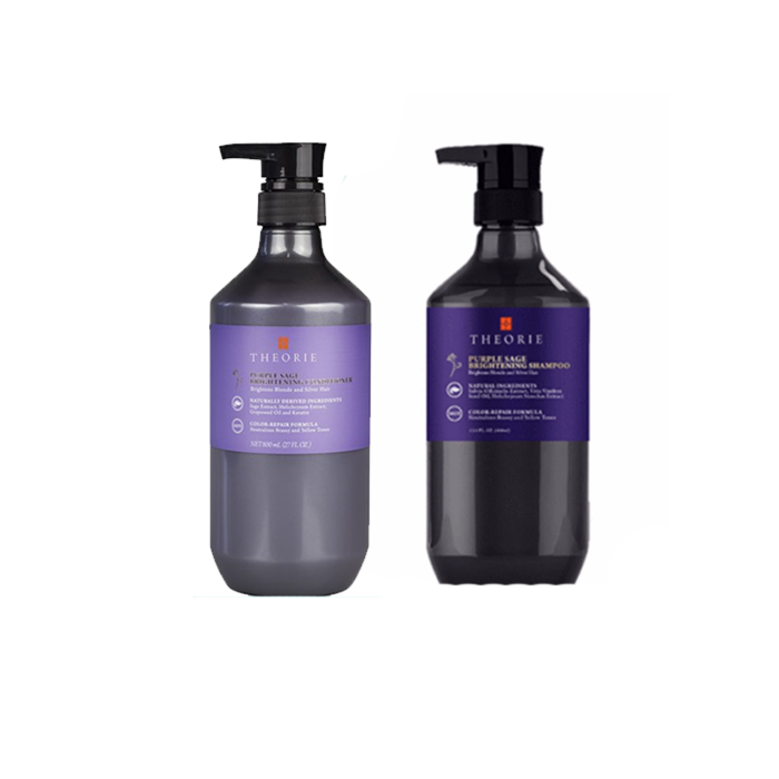 Theorie - Purple Sage Duo Pack - Brightening Shampoo/Conditioner (2x800mL)