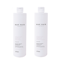 NAK Hair - Duo Pack - Structure Complex Protein Shampoo/Conditioner - (2x375mL)