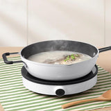 XIAOMI - Mijia Electric Induction Cooker Youth Adjustable Heat 9 Levels of Flames Low Power Continuous Power Con Cooker 2100W