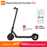 XIAOMI- Global Version Mijia Electric Scoote Pro Smart E Scooter Skateboard Mini Foldable Hoverboard Adult 45km Battery