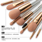 EIGSHOW 10 high quality Professional makeup brushes set cosmetic brush beauty tool kits for Foundation eyebrow powder lip eye shadow