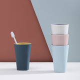 XIAOMI Bathroom Tumbler Cup Two-Color Tooth-Brushing Cup Home Water Cups Unbreakable Cups