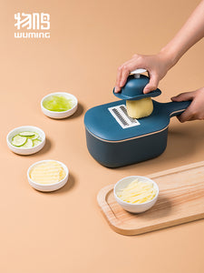 XIAOMI Nordic 5-in-1 Multi-functional Kitchen Potato Planer Fruit Slicer Vegetable Chopper and Cutter with Draining Basket Bowl