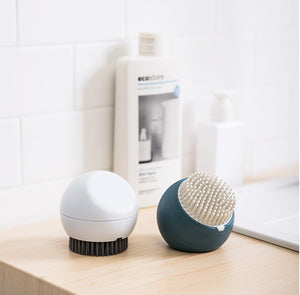 XIAOMI Mini Silicone Cleaning Brush Kitchen Pot-cleaning Brush Mushroom Shaped Short Handle Brush