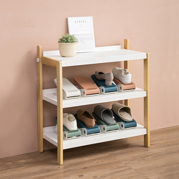 XIAOMI Nordic Style Home Mini Plastic Shoes Rack Organizer Single Layer